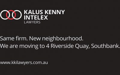 Kalus Kenny Intelex is moving