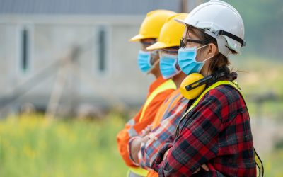 Construction sites to mask up