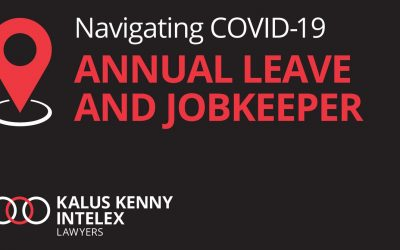 Can employees refuse to take annual leave when on JobKeeper?