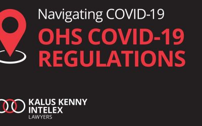 Temporary Occupational Health and Safety Regulations (COVID-19 Incident Notification) Regulations 2020