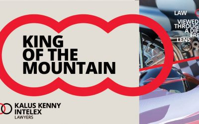 The King of the Mountain – with a twist