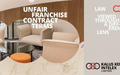 Does your franchise agreement contain unfair contract terms?