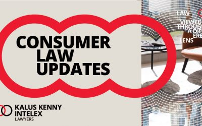 Australian Consumer Law is changing. Don't get caught out thinking it doesn't apply to you!