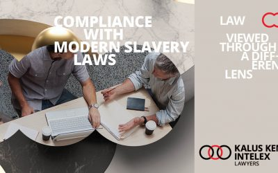 Modern Slavery – is your business compliant?