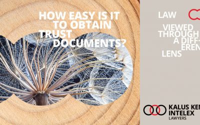 Is it easy to obtain trust documents? Maybe so.